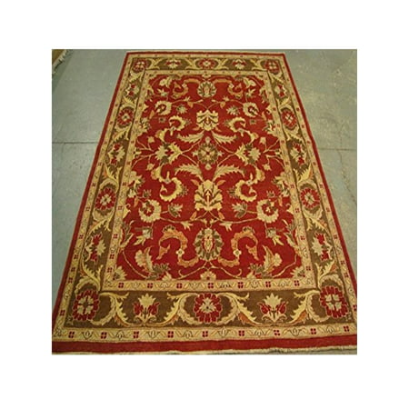 Exclusive Chobi Zeigler Mahal Traditional Designed Area Rugs Vege Dyed Hand Knotted Carpet (8.1 x (Chobi Carpet)