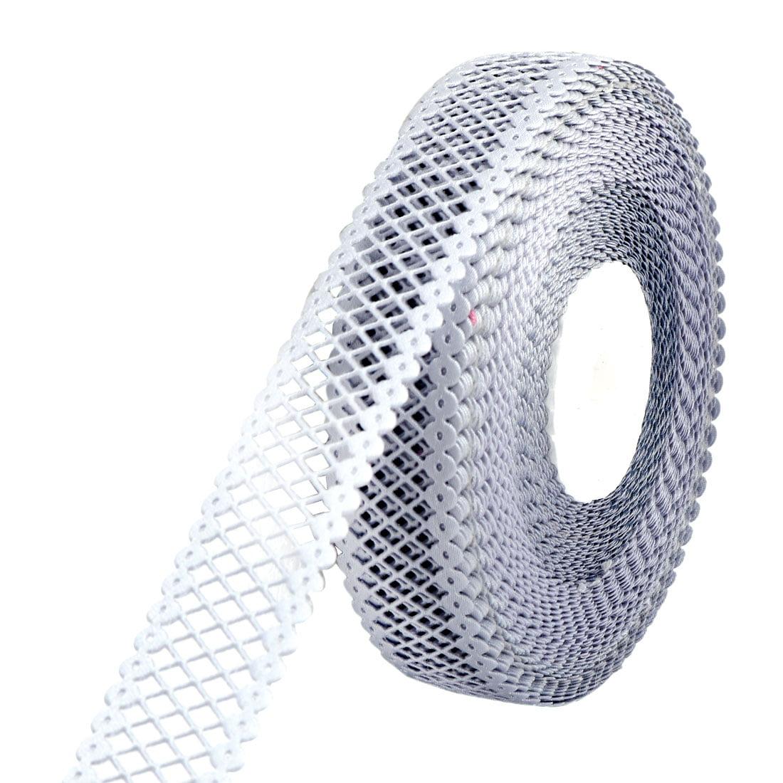 Wedding Birthday Polyester Dress Gift Decor DIY Sewing Ribbon Roll Gray 20 Yards