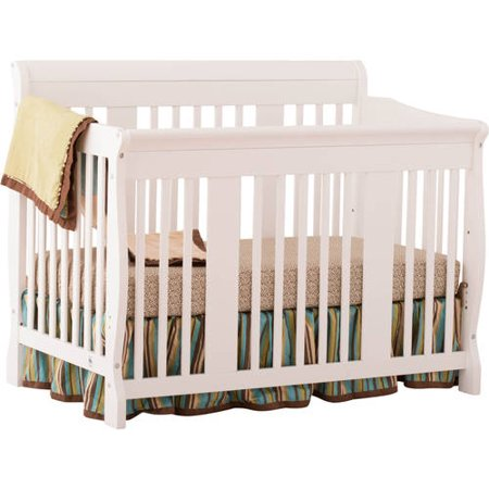 storkcraft tuscany 4 in 1 crib white