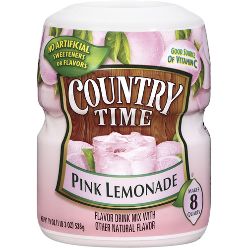 Country Time Pink Lemonade Drink Mix, 19 oz