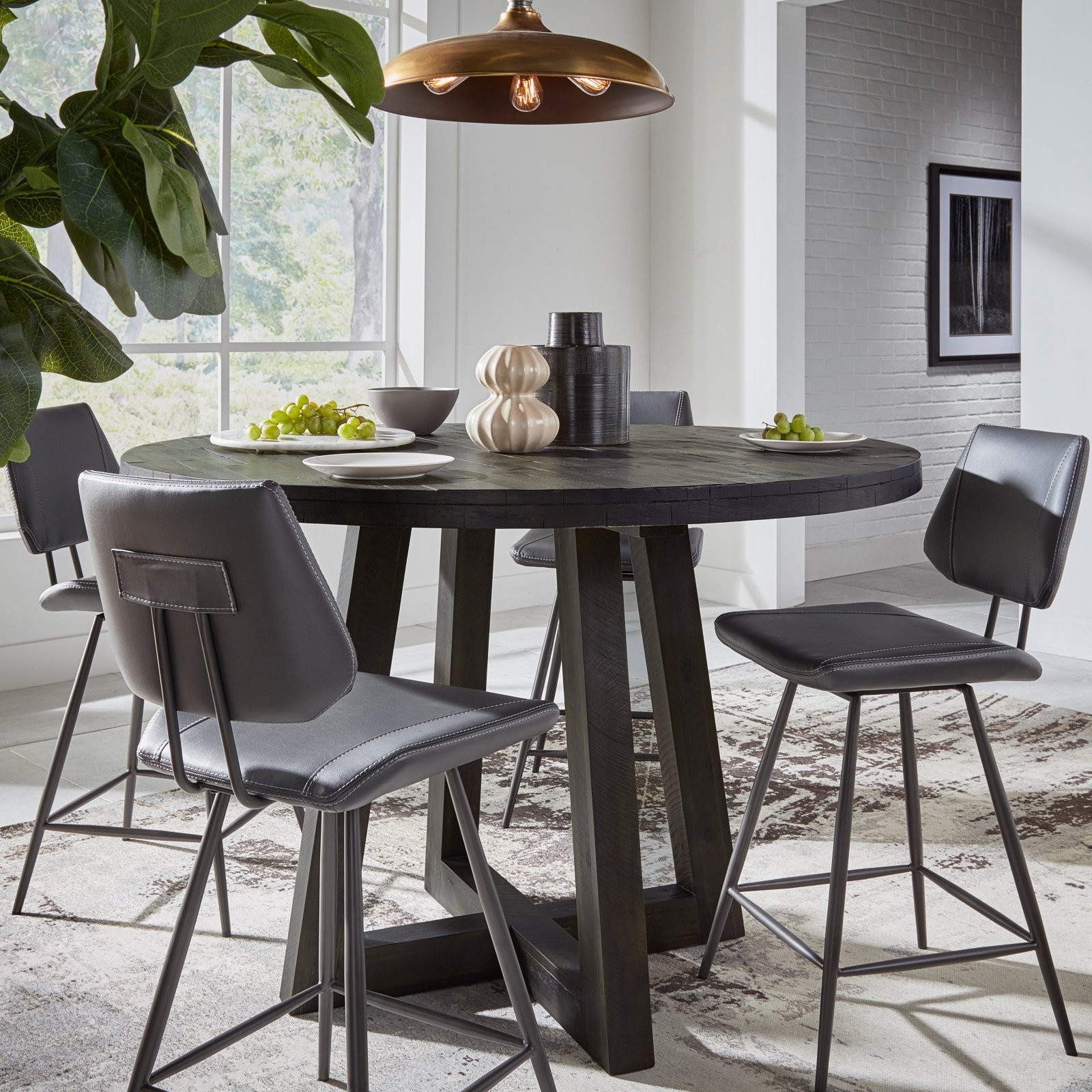 Modus Orson 54 in. Round Counter Height Dining Table by Modus Furniture International