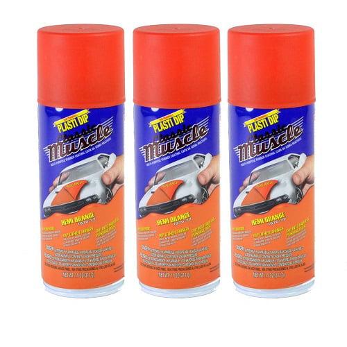 Performix Plasti Dip Muscle Car 11310 Hemi Orange Rubber Spray 3 PACK