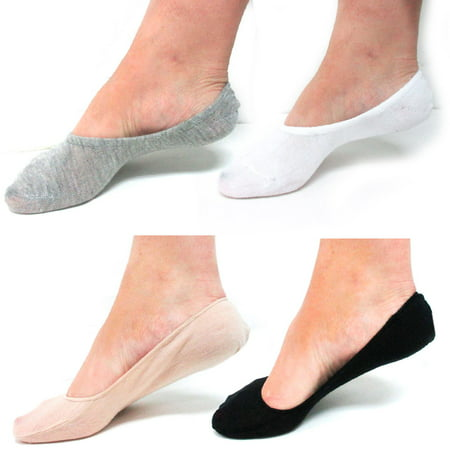12 Pairs Multi Color Foot Covers Footies Dress Flat Shoes Soft Socks Liners New