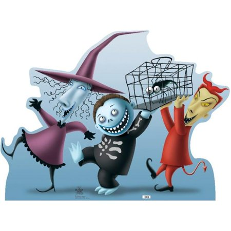 Lock Shock and Barrel Life-Size Cardboard Stand-Up](Lock Shock And Barrel Halloween Masks)