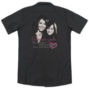 Gilmore Girls Title (Back Print) Mens Work Shirt