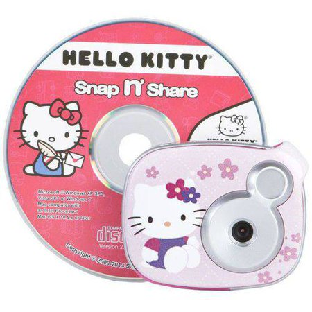 Offer Kids' Digital Camera with 2.1 Megapixels, Hello Kitty Before Too Late