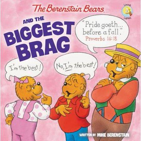 Wedding Photo Brag Book (Berenstain Bears/Living Lights: The Berenstain Bears and the Biggest Brag (Paperback) )