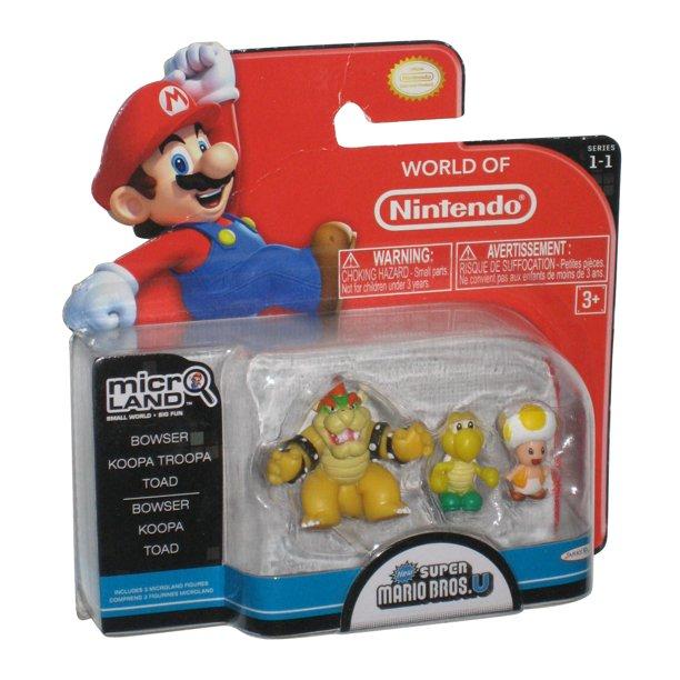 World Of Nintendo Super Mario Bros U Micro Land Figure Set