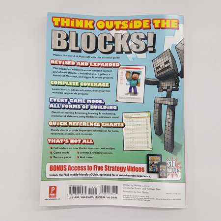 Image of Prima Games Mastering Minecraft Revised & Exp Guide