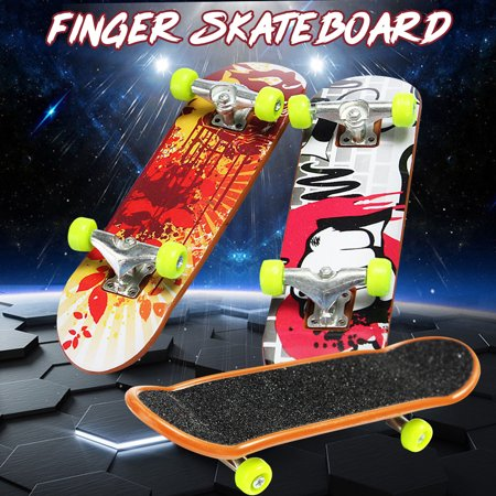 6PCS Portable Mini 6PCS Finger Skateboard Fingerboard Toy Children Birthday Gifts Random Pattern - Walmart.com