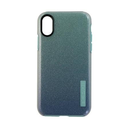 Incipio Design Series Protective Case Cover for iPhone X - Mint Sparkles (Simple Sparkle)