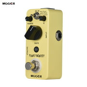 MOOER FUNKY MONKEY Auto Wah Guitar Effect Pedal 3 Peak Modes True Bypass Full Metal Shell