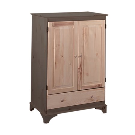 - Video Cabinet Unfinished Pine Hadley Cabinet