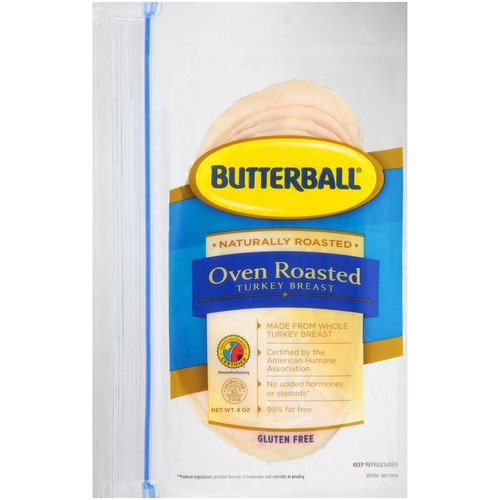 Butterball Oven Roasted Turkey Breast, 8 oz