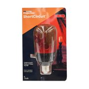 LED Light Show Halloween Projection Short Circuit Light Bulb, Red