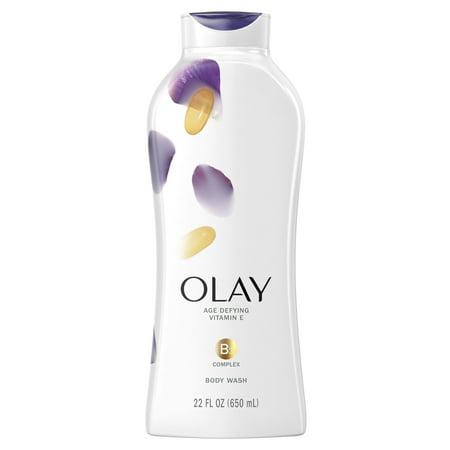 Olay Age Defying Body Wash for Women with Vitamin E, 22 fl oz Age Defying Body Moisture