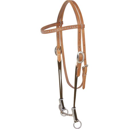 Loomis Twisted Browband Gag Headstall (Browband Headstall)