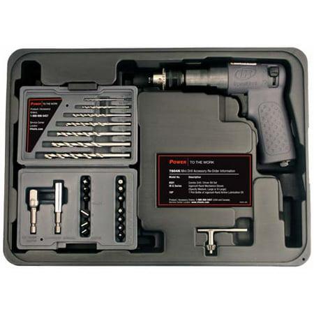Ingersoll Rand 7804K 1 4   Mini Air Drill Driver Tool Kit   Ir7804k