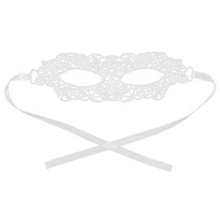 Masquerade Halloween Dress (Women Masquerade Costume Halloween Party Dress Eyemask Lace Eye Mask)