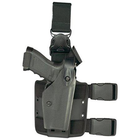 - SAFARILAND 6005 Tactical Gera System Holster With Leg Release Glock 19 (4 bbl) STX Tactical