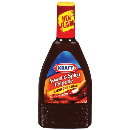 Kraft Barbecue Sauce: Barbecue Sauce Sweet & Spicy Chipotle, 40 Oz