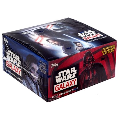 2018 Star Wars Galaxy Trading Card RETAIL Box [24 -
