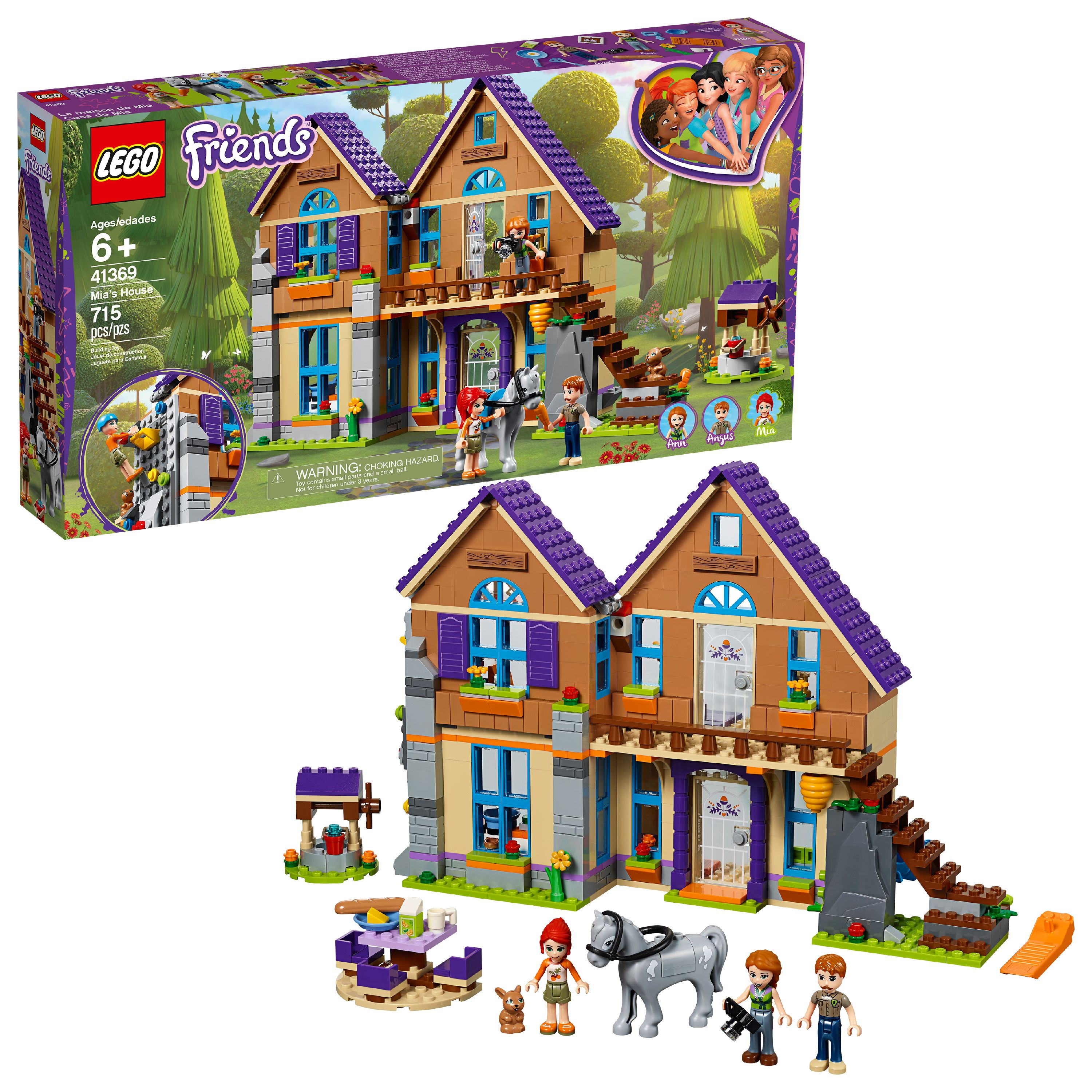 LEGO Friends Mia's House 41369 Building Set (715 Pieces)