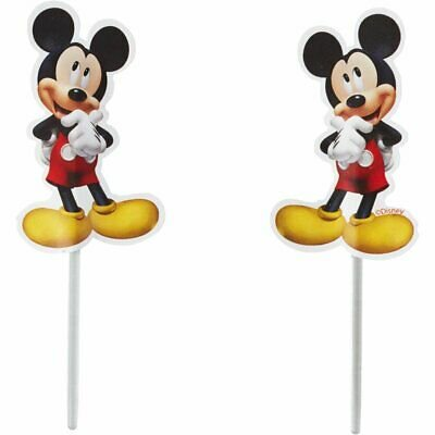Mickey Mouse Fun Picks Cupcake Toppers - 24 Count - 2113-7108 - National Cake