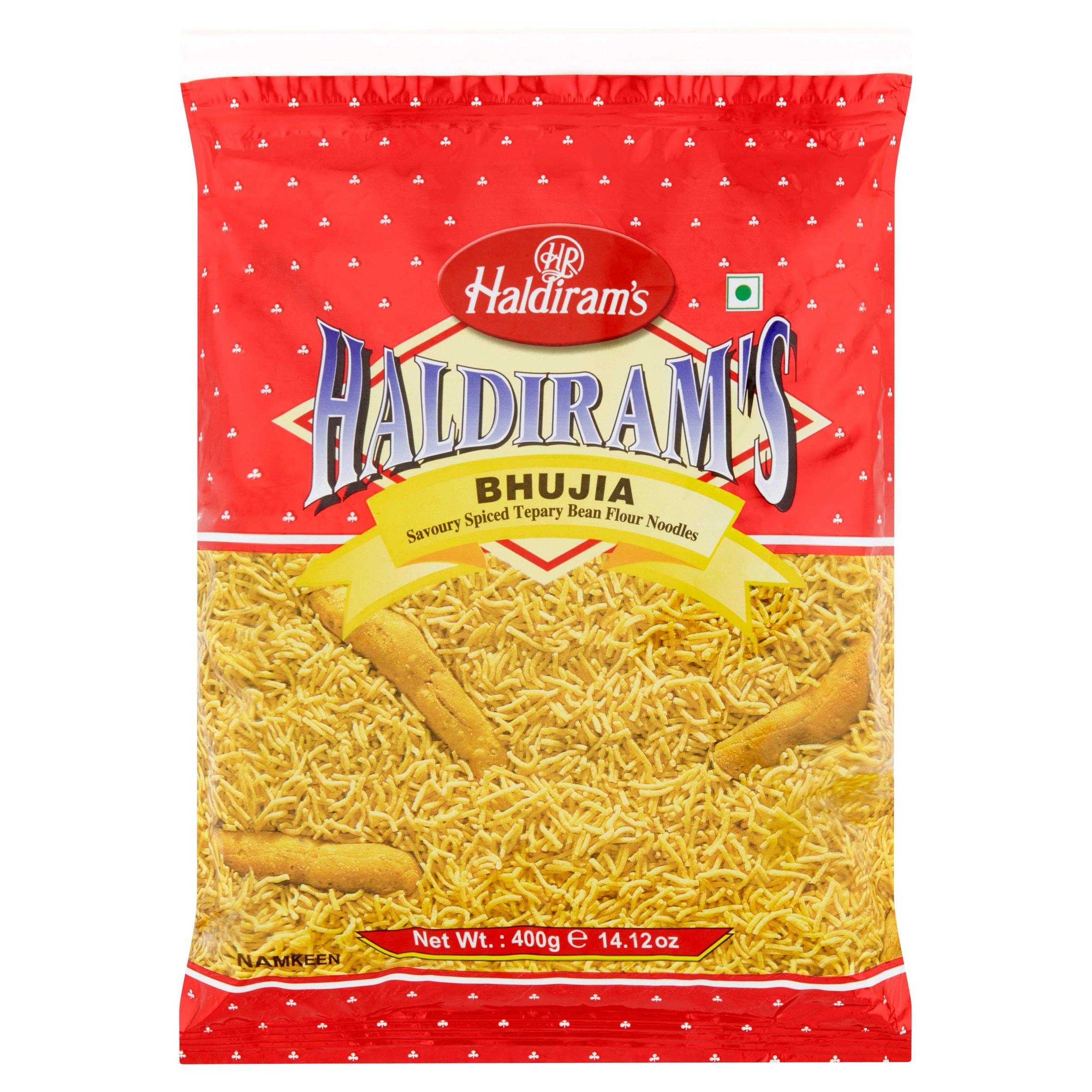 (2 Pack) Haldiram's Bhujia Spicy Chickpeas Strips, 14.12 oz