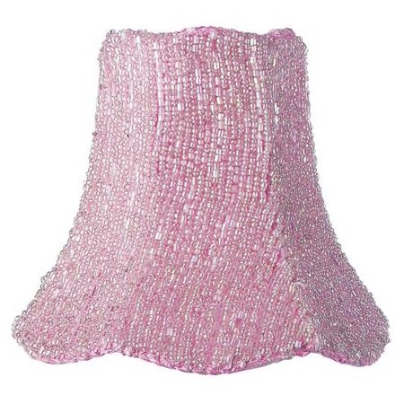 Chandelier Shade - Glass Bead on Fabric -