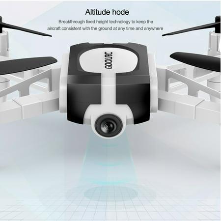 GoolRC T700 720P Wifi FPV Mini Selfie Drone G-Sensor Altitude Hold RC Training Quadcopter w/ 3 Battery for Beginners Kids - image 7 de 7
