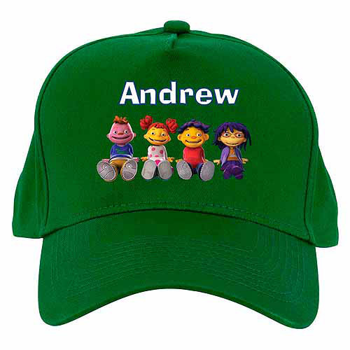 Personalized Sid the Science Kid & Friends Baseball Hat, Green