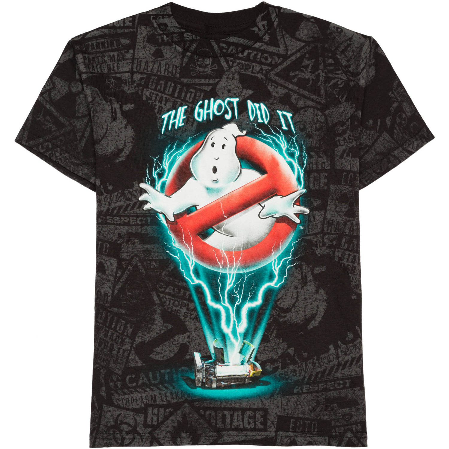 Ghostbusters Boys The Ghost Did It Graphic Tee