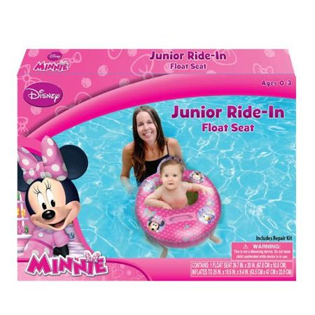 Minnie Mouse Pool (Minnie Mouse Bowtique Baby Toddler Ride-on Float Seat - Swim Raft, Ring,)