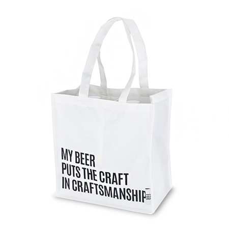 Beer Snob Growler Tote by Foster and Rye