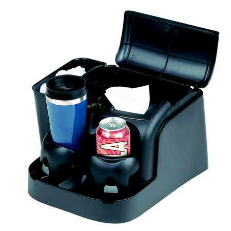 GoGear Bench Or Rear Seat Deluxe Console (Black) SSC-BLA/DLX