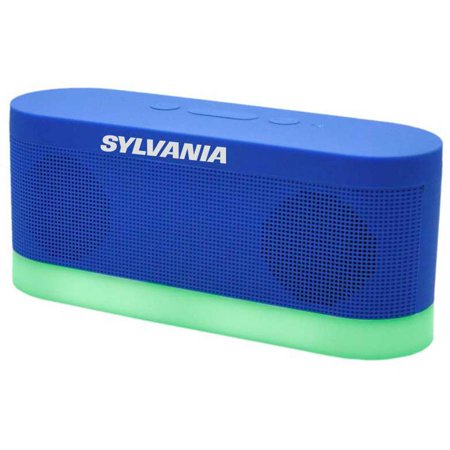 Sylvania SP136-BLUE Bluetooth Moonlight Speaker, Blue