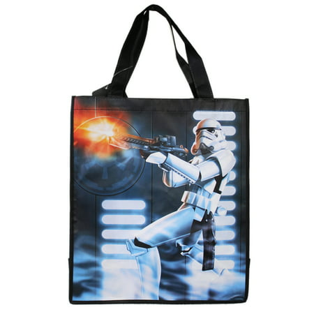Star Wars Firing Storm Trooper Graphic Light Material Tote Bag