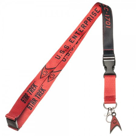 Lanyard - Star Trek - Red Member New Toys Licensed la3mp3sta