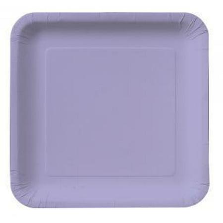 Creative Converting Luscious Lavender Paper Plates, 18 ct