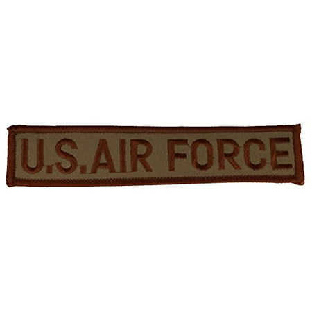 U.S. AIR FORCE NAME TAPE STYLE Patch - Desert/Tan - Veteran Owned (Nme Air)