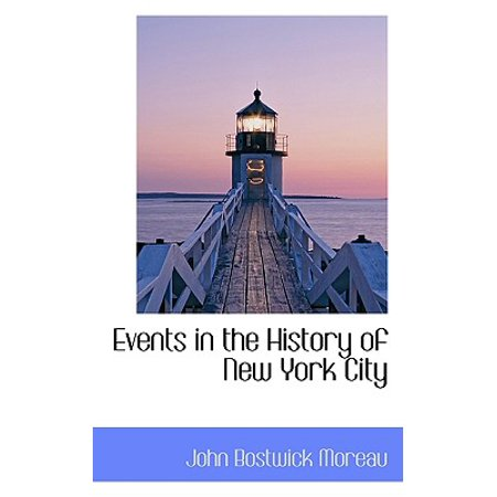 Redwood City Events (Events in the History of New York)