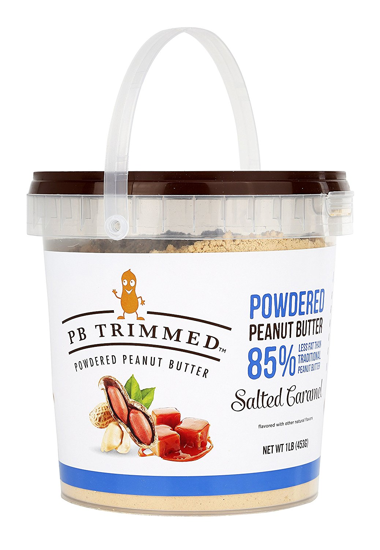 affc5c6cf3e5 PB Trimmed Powdered Peanut Butter (Salted Caramel, 16 Oz)