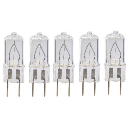 5pack LSE Lighting Xenon G8 GY8 Base 25W Clear 25 watt Light Bulbs 20 Watt Kx2000 Xenon Lamp