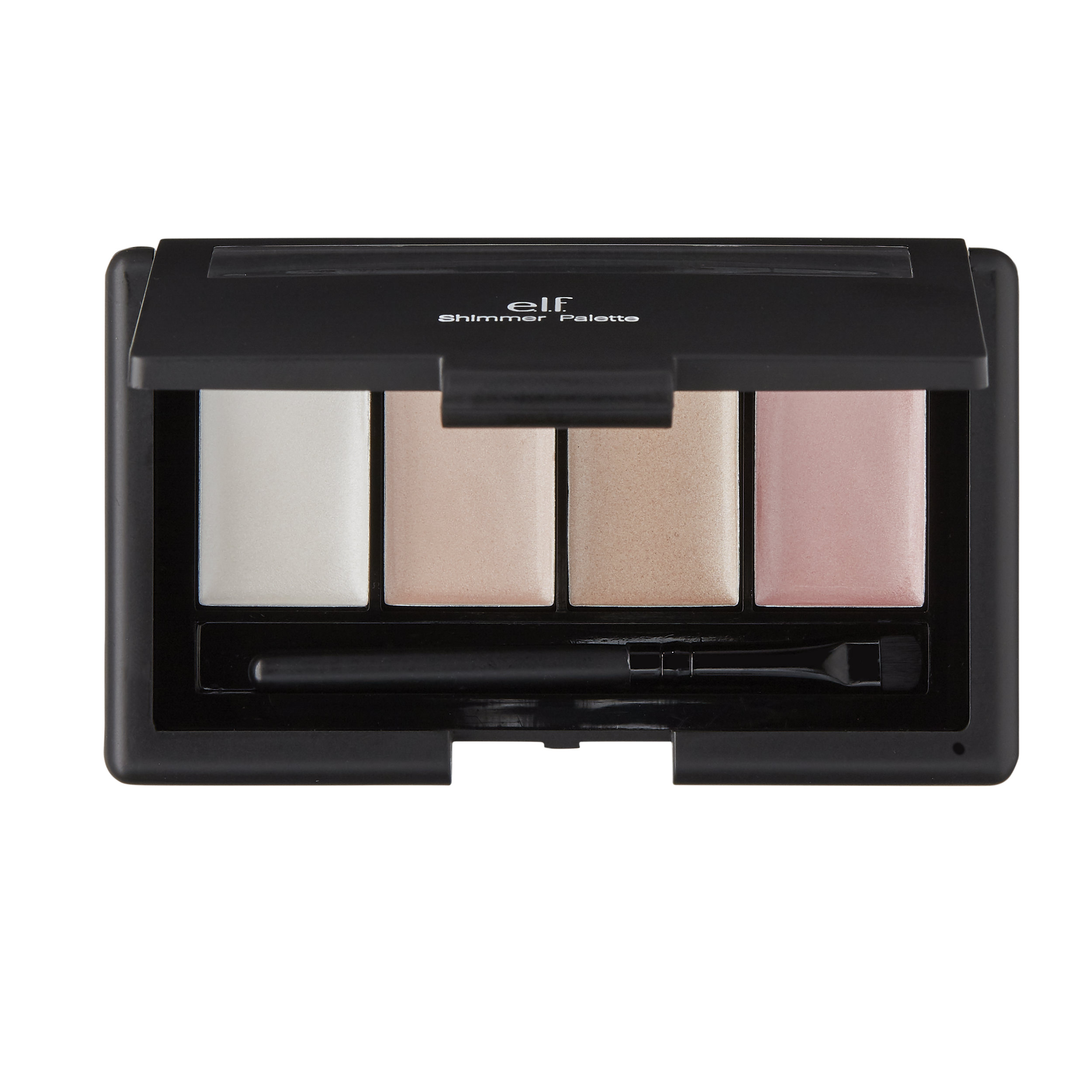 e.l.f. Shimmer Palette, with Brush