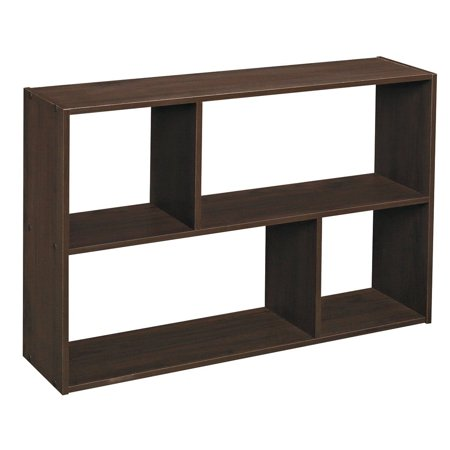 Espresso Mini Furniture (ClosetMaid Cubeicals Mini Off-Set Cube Organizer, Espresso)