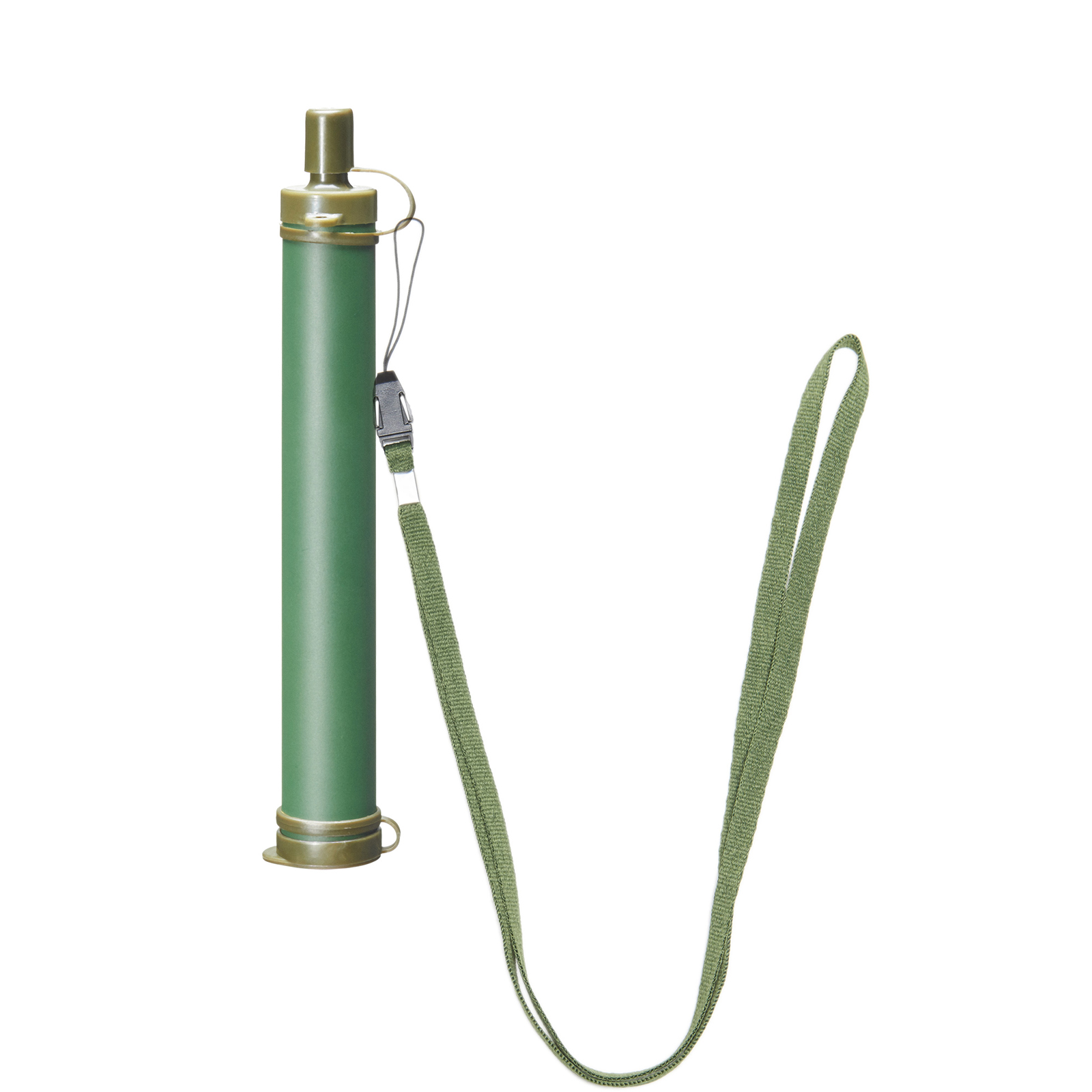 Pinty Water Filter Straw Military Green by Pinty