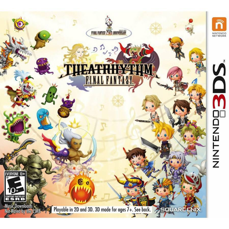 THEATRHYTHM:FINAL FANTASY 3DS ACTION