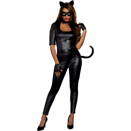 Bad Kitty Adult Women's Halloween Costume](Kitty Costume Adults)