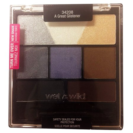 Wild Shiner - Color Icon Set Eyeshadow Medley: A Great Glistener 34208, Top Row: Shimmer Overcoats for Browbone By Wet n Wild From USA